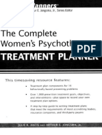 The Complete Women's Psychotherapy Treatment Planner - Julie R. Ancis & Arthur E. Jongsma