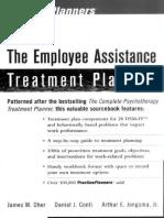 The Employee Assistance Treatment Planner - James M. Oher & Daniel J. Conti & Arthur E. Jongsma