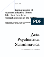 The longitudinal course of recurrent affective illness