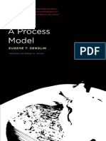(Studies in Phenomenology and Existential Philosophy) Eugene T. Gendlin-A Process Model-Northwestern University Press (2018)
