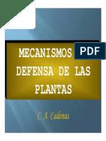 14.CAPITULO XIII Defensa de Las Plantas