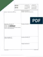 Bill Schuette 11/16/16 Calendar Entry