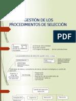 Gestión de Los Procedimientos de Selección (1)