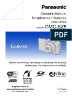Panasonic DMC-SZ5 Manual
