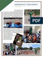 Newsletter No 42 - 8th June 2018