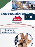Inducción Grupo SAGAJI 2018
