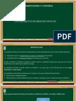 Principios de Instrumentos de Medición de Flujo