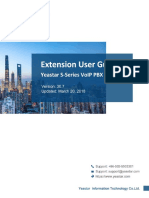 Yeastar S-Series Extension User Guide