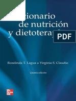 Diccionario nutricion dietoterapia