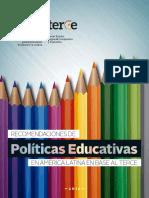 244976s Recomendaciones de Políticas Educativas en Américalatina