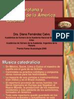 Ultima Unidad Tema 1 Música Profana y Religiosa de La América Colonial