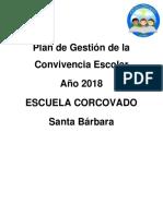 Plan de Gestión de Convicvencia Esolcar 2018
