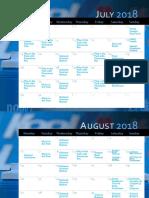 KOOL Days of Summer Calendar