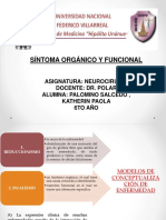 Sintoma Organico y Funcional Dr. Polar 2
