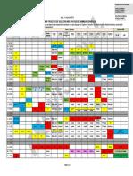 Calendario Conjunto Procesos de Seleccion 2018