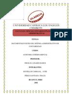 Documento Fuente Del Sistema Administrativo de Contabilidad