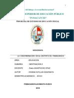 MONOGRAFIA DE  LA DISCRIMINACION.docx