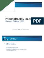 Clases y Objetos Visual Studio C#