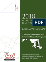 Maryland Nonprofits 2018 Salary and Benefits Survey Executive Summary