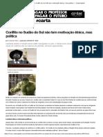 Conflito No Sudão Do Sul Não Tem Motivação Étnica, Mas Política — CartaCapital