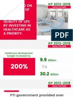 The performance of KPK Govt - 2013 to 2018 - English