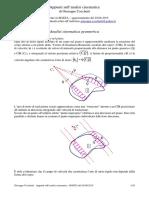 Introduzione All'Analisi Cinematica - Cocchetti