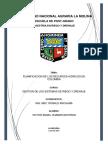 Planificacion de Los Recursos Hidricos en Colombia
