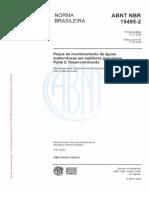Nbr 15495-2 2008 Pocos Monitoramento Aguas Subterraneas Aquiferos Granulares Desenvolvimento
