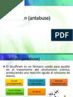 Disulfiram (Antabuse)