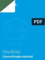 Ficha Técnica de Cisterna Rotoplas industrial