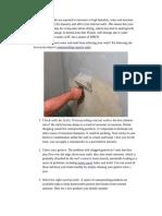 Waterproofing Exterior Walls