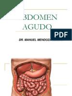Abdomen Agudo 2013 Dr Mendoza