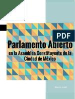 Valoración de Parlamento Abierto en la Asamblea Constituyente, 5mzo18