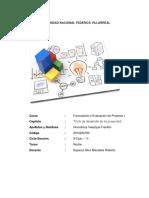 Capitulo 3 Formulación de Proyectos