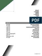 JVC LT-55VU63J SMART LED Manual Cz Sk en de Fr It Es Hu Pt