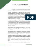 PARLAMENTO JUVENIL DEL MERCOSUR - CORRIENTES, ARGENTINA