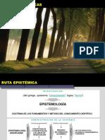 RUTAS EPISTEMOLOGICAS.ppt