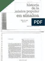 Historia de la música popular en Sinaloa