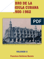 Libro de La Farándula Cubana 1900 - 1962 Volumen II