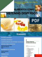 2017 Clase Alimentos Como Sistemas Dispersos