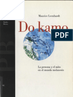 Do Kamo Maurice Leenhardt