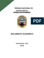 Unh Epg Reglamento Academico 2016