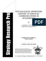 ADA497711 PSYOPs Support to Strategic Communications