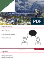 INTEG1111 Integrations Overview