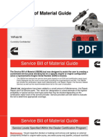 Service Bill of Material Guide