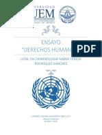 Ensayo Derechos Humanos
