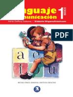 1u00b0 Texto Estudiante Lenguaje Silabario