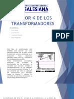 Factor k de Los Transformadores
