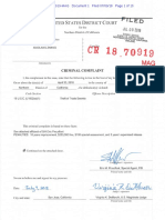 Complaint against Xiaolang Zhang