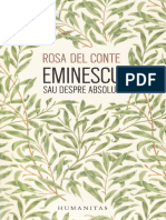 Eminescu sau despre absolut - Rosa Del Conte.pdf